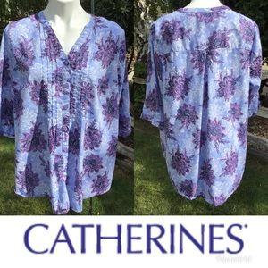 Catherines Floral Blue & Purple